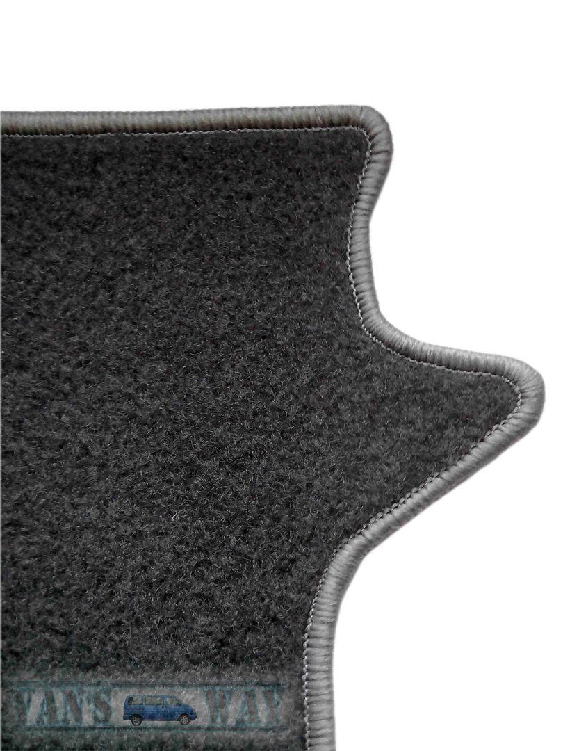 ensemble tapis vw t5 t6 california 3 rails gris. Black Bedroom Furniture Sets. Home Design Ideas